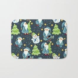 Christmas Winter Pattern Bath Mat