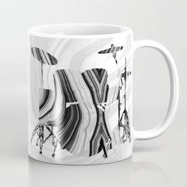 Marbled Music Art - Drums - Sharon Cummings Coffee Mug