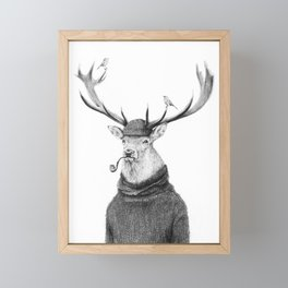 Wild Thinking Framed Mini Art Print