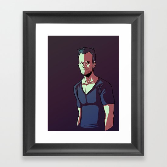 JOEL Framed Art Print