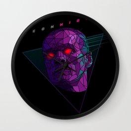 Neonnight 80s cyborg Wall Clock