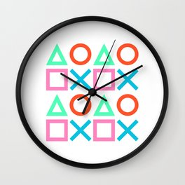 Play Pattern 2 Wall Clock