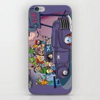 van iPhone & iPod Skins featuring Van by manuvila