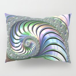 Colorful Spiral Pillow Sham