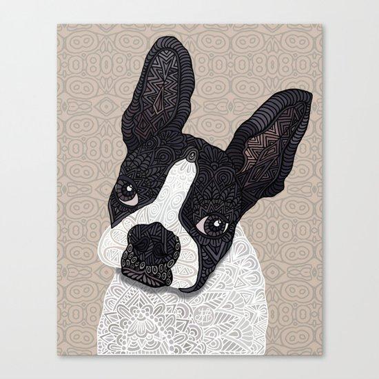 Boston Terrier 2015 Canvas Print