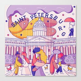 Saint Petersburg Canvas Print