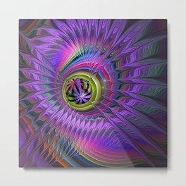 Peacock eye Metal Print