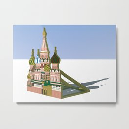 Russia Is A Marginal Power Metal Print