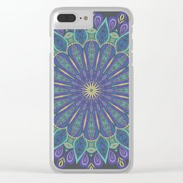 Southern Belle Mandala Clear iPhone Case