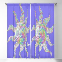 The Rainbow Sun Blackout Curtain