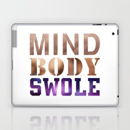 Mind, Body, & Swole Laptop & iPad Skin
