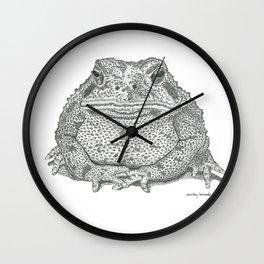 American Toad Wall Clock