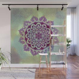 Hipnotic Mandala Design Wall Mural