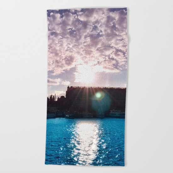 Pastel vibes 35 Beach Towel