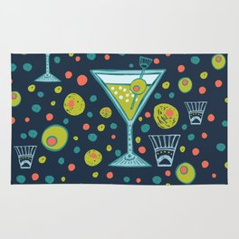 Martini Party Rug