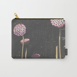 Lotus Seed Heads Carry-All Pouch