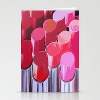 lipstick Stationery Cards featuring Lipstick by Love2Snap