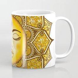 Sun Mandala Coffee Mug
