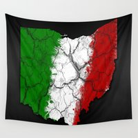 ohio Wall Tapestries featuring Ohio Italian by AJF89