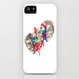 Splitting Heads iPhone Case
