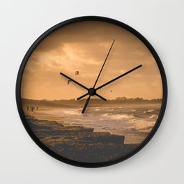 surfs up Wall Clock