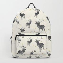 GOLD & ASH DEER PATTERN Backpack