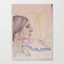 sunday morning Canvas Print