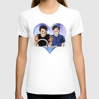 danisnotonfire T-shirts featuring DAN AND PHIL by Share_Shop