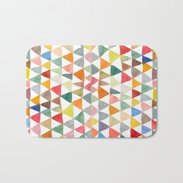 Triangle Tapestry Bath Mat