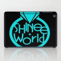 shinee iPad Cases featuring SHINee World I Logo by Korea&Japan