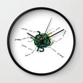S-N-A-K-E-(S)  Wall Clock