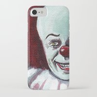 pennywise iPhone & iPod Cases featuring Pennywise the Clown by Minerva Torres-Guzman