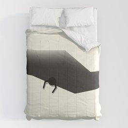 Slipping Through the cracks Comforters