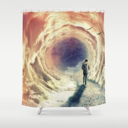 Shortcut to the Sea Shower Curtain