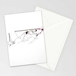 Nudegrafia - 005 fingering Stationery Cards