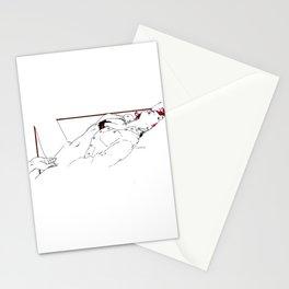 Nudegrafia - 005 fingering Stationery Cards