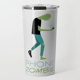 Phone Zombie Travel Mug
