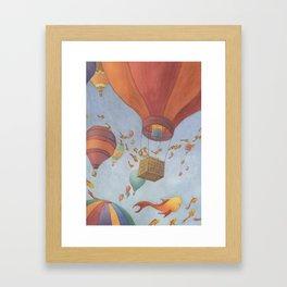 Fields of Fish Framed Art Print
