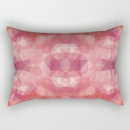 """Berries mousse"" triangles design Rectangular Pillow"