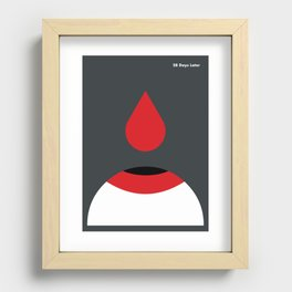 28 days later Recessed Framed Print