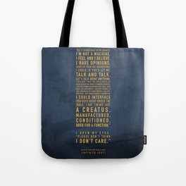 Not a Machine Tote Bag