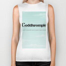 "Coddiwomple ""To travel in a purposeful manner towards a vague destination"" Biker Tank"