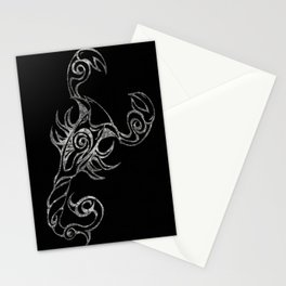 Scorpion in Reverse Stationery Cards
