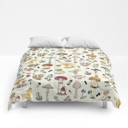 Fungus pattern Comforters