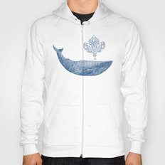 The Damask Whale  Hoody