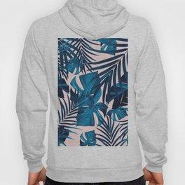 Tropical Jungle Leaves Pattern #6 #tropical #decor #art #society6 Hoody