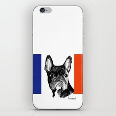 French Bulldog. The Totally French Version... iPhone & iPod Skin