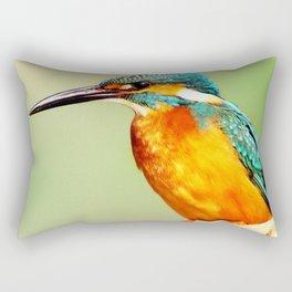 Bright Orange Rectangular Pillow