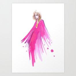 Chiara Pucci Art Print