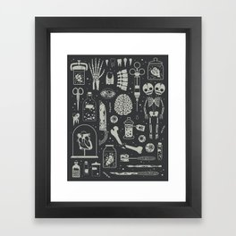 Oddities: X-ray Framed Art Print